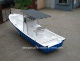 Liya 25ft China Mini lanchas de fibra de vidrio los barcos de pesca de bajura