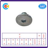 GB/DIN/JIS/ANSI kolen-staal/4.8/8.8/10.9 de Gegalvaniseerde Hexagon HoofdSchroeven Van roestvrij staal van de Knoop voor Birdge