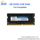 Unbuffered So-DIMM DDR4 4GB 2133MHzのラップトップのRAM