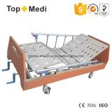 Heißes Verkauf 2017 Topmedi Krankenhaus-Geräten-manuelles Hauptsorgfalt-Krankenhaus-Möbel-Bett