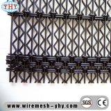 平屋建家屋の振動のためのひだを付けられた金網