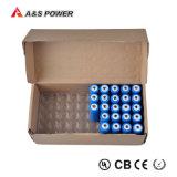 Bis, UL Ce GB CB38.3 de la ONU aprobó la MSDS 3.7V 2600mAh 18.650 baterías de iones de litio