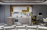 Armário à moda do gabinete de cozinha do painel moderno quente da venda