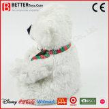 La peluche molle d'E N71 joue l'ours de nounours de peluche dans l'écharpe