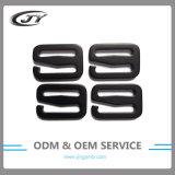 Inarcamenti di alluminio dell'amo di G del metallo di Carabiner di registrazione nera di colore dell'OEM
