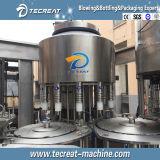 Linha de enchimento completa automática máquina de engarrafamento do Aqua da água de frasco da pequena escala 4000bph