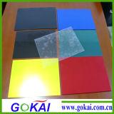 200-250 미크론 공간/색깔 물집 팩을%s 엄밀한 PVC 장