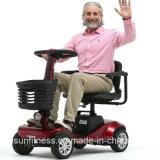 Scooter électrique à quatre roues handicapé bon marché de la mobilité 2017 pour des personnes plus âgées