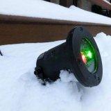 Laser ao ar livre plástico do projetor do laser com de controle remoto