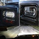 Scheinwerfer des Lantsun LED6485 5 6X7 '' x7 '' Zoll-Vierecks-hohe niedrige Träger-LED für JeepWrangler Yj Cherokee Xj H6054 H5054