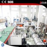 Film di materia plastica Agglomerator di alta efficienza con la singola riga di pelletizzazione dell'estrusore a vite