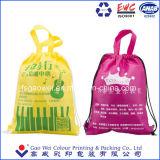 Tissu Varisou Logo personnalisé Non-Woven promotionnels d'impression Shopping Sac avec lacet de serrage