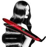 Le fer plat de cheveu en céramique de remboursement in fine rapide réchauffe le fer de Styler de cheveu de chaufferette de Mch