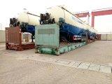 цемент 70ton 60cbm 3axles навальный/порошка материальный бака трейлер Semi
