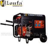Générateur de soudure d'énergie électrique d'Anditiger 5kw avec des traitements et des roues