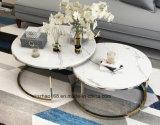 현대 디자인 둥근 대리석 커피용 탁자
