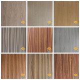 Grano de madera de nogal papel decorativo para suelos de China