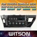 Lettore DVD di multimedia dell'automobile di Witson Windows per Toyota Prado 2014