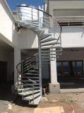 Le fournisseur de la Chine conçoivent la balustrade spiralée fixée au mur d'escalier de pipe d'acier inoxydable