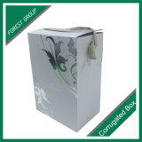 贅沢は無光沢の波形のワインボックスをカスタム設計する