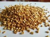 Additivi di plastica di Masterbatch di colore dorato dell'HDPE del grado dell'iniezione