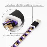 Цветные фильтры грубой лапшой высококачественный кабель передачи данных для мобильных телефонов