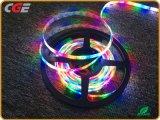 12V SMD 3528 유연한 지구 빛 RGB 밧줄 빛 최고 가격 휴일 빛
