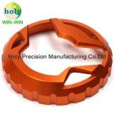 De geanodiseerde Dekking van de Tank van de Olie van de Motorfiets voor CNC de Delen van het Aluminium