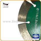 Disco de corte herramientas eléctricas de la pared de la hoja de sierra de diamante de corte marcadamente piedras Mosaico
