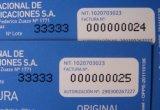 Etiquetado de Scratch Card Machine