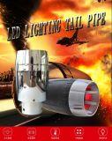 Tubo di scarico all'ingrosso con l'indicatore luminoso del LED per modificato
