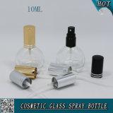 10ml Mini vide bouteille de parfum vaporisateur en verre transparent