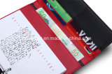 Кожаный тетрадь с книгами журнала пер изготовленный на заказ