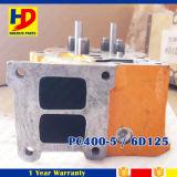 Pc400-5 de Cilinderkop van de Motor van het graafwerktuig 6D125 Voor de Motoronderdelen van KOMATSU