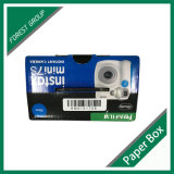 Caixa de embalagem de papel de impressão completa para câmera