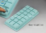 Dehuan fácil pressionar moldes do gelo do silicone