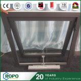 Fenêtres à auvent électrique, fenêtre d'auvent UPVC avec couleur noire