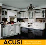 De in het groot Amerikaanse Keukenkasten van de Stijl van L Stevige Houten (ACS2-W15)
