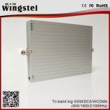tri servocommande de signal de bande de 900/1800/2100MHz 2g 3G 4G pour l'usage à la maison