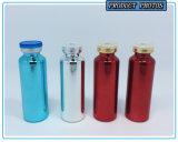 Fiole en verre Electroplated UV colorée avec Filp outre de couvercle