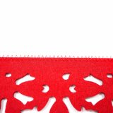 Gesäumtes 100% geglaubtes genähtes Placemat für Tischplatte und Dekorationen