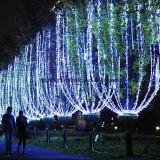 De openlucht Witte Verlichting van de Stijl van de Kerstboom van de Decoratie van de Boom Populaire