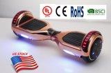 Scooter de Individu-Équilibrage électrique avec le haut-parleur de DEL Bluetooth