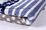 Flanelle estampée de polyester/tissu de corail d'ouatine - 14447-3 1#