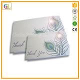 Cartão de papel / cartão de visita / impressão de cartão em preço barato