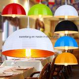 Restaurante de aluminio decorativo lámpara colgante colgante en Venta caliente