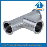 Het Vastgeklemde T-stuk van de Stuiklas Y van het roestvrij staal Type (304/304L/316/ACE-PJ-W5)