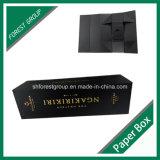 Goldfolie Stampping Pappgeschenk-Papierkasten für das Wein-Verpacken