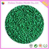 Masterbatch verde con los gránulos del LDPE
