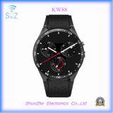 Het multifunctionele Slimme Horloge van Bluetooth Kw88 Andriod met de g-Sensor van de Monitor van de Gezondheid SIM